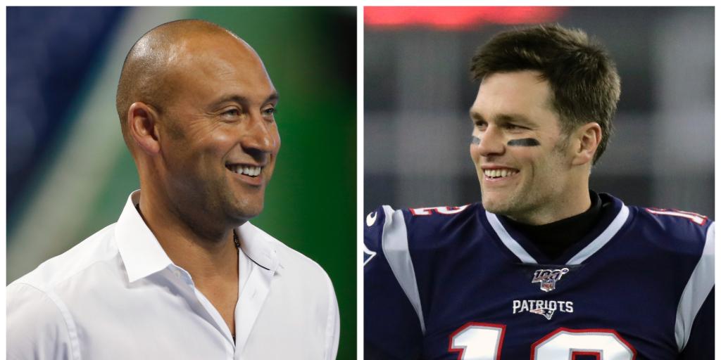 Derek Jeter e Tom Brady