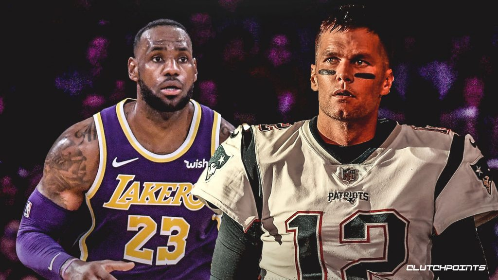 LeBron e Tom Brady