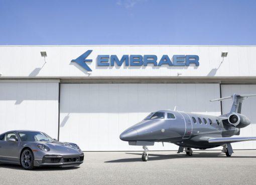 Porsche e Embraer